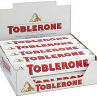 12 x Toblerone White 100 g.