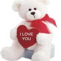 2 ft Teddy Bear with I love You Pillow-2