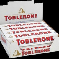 Toblerone White 100g (Box of 20)