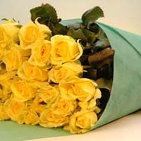 3 Dozen Yellow Roses Bouquet
