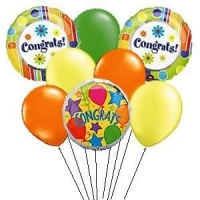 Congratulations Balloon Bunch
