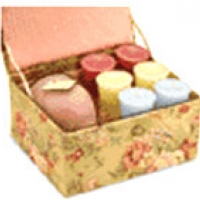 Candles in a box
