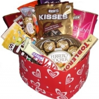 Chocolate -heart box