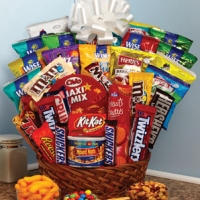 Jumbo chocolate basket