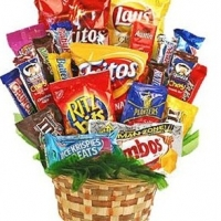Big Basket of Snacks