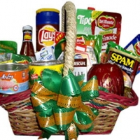 Gifts of Love Christmas Basket