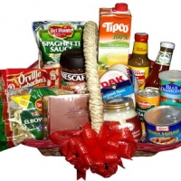 Holiday christmas Gift Basket