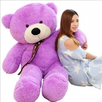 4ft giant lavender teddy