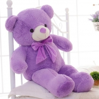 4 ft lavender teddy bear