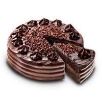 Ultimate Chocolate Cake by red ribbon