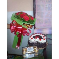 RED ROSES BOUQUET #54