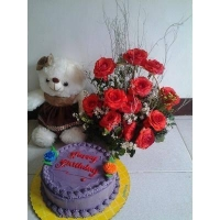 RED ROSES BOUQUET #07