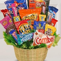 CHRISTMAS SNACK BASKET