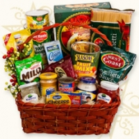 Sweet Christmas basket
