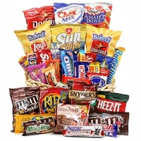 Classic Snack Gift Basket -