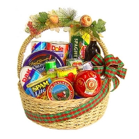a Christmas Basket