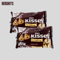 2 pack Kisses with almonds,  311g each