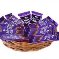 Big cadbury basket