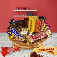 Awesome Basket of Assorted Chocolates(20 items)