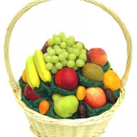 Traditional fruites basket