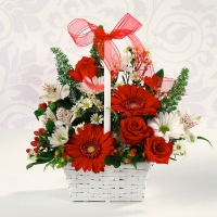 Red & White Delight for MOM
